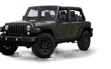 Jeep Wrangler (or similar)